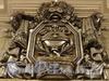 Перронный зал станции метро «Кировский Завод». Барельеф. Фото март 2011 г.
