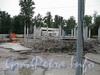 Станция метро «Горьковская». Строительство нового наземного павильона. Фото июль 2009 г.