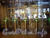 Станция метро «Горьковская». Новое оформление наземного павильона после реконструкции. Фото январь 2010 г.