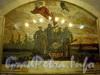 Станция метро «Балтийская». Мозаичное панно «1917-й год». Фото февраль 2010 г.