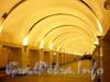Станция метро «Проспект Просвещения». Подземный зал. Фото декабрь 2009 г.