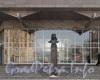 Станция метро «Чкаловская». Бюст Валерию Павловичу Чкалову, установленный при входе на станцию метро.