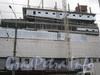 Строительство многофункционального комплекса «Международный», совмещенного с наземным вестибюлем станции метро «Международная».  Фото март 2012 г.