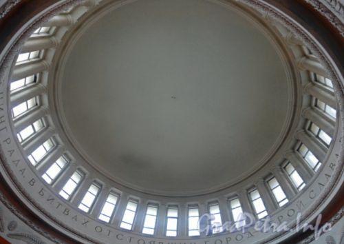 Станция метро «Автово». Световой купол. Фото апрель 2011 г.