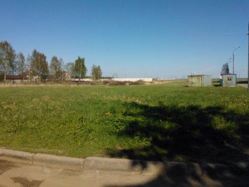 Поселок Новоселье. Территория комплексного освоения территории «Новоселье: Городские кварталы». Фото май 2012 года.