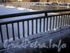 Фрагмент ограды Ново-Московского моста. Фото февраль 2010 г.