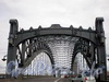Вид на Большеохтинский мост («Петра Великого») со стороны Тульской улицы. Фото июль 2009 г.