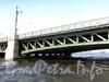 Пролеты Дворцового моста. Фото июнь 2010 г.