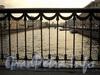 Фрагмент ограды Лештукова моста. Фото июль 2010 г.