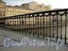 Ограда Лештукова моста. Фото июль 2010 г.