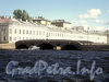 Прачечный мост через Фонтанку. Вид со стороны Невы. Фото июнь 2010 г.