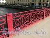 Фрагмент ограды Красного моста через Мойку. Фото июнь 2010 г.