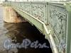 Ограда Литейного моста. Фото сентябрь 2010 г.