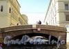 1-й Зимний мост через Зимнюю канавку. Фото июнь 2010 г.