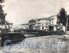 Канал Грибоедова в районе Банковского моста. Фото 1950-х г (?). (старая открытка)