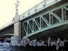 Пролеты Троицкого моста. Фото июнь 2010 г.