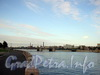 Гренадерский мост через Большую Невку. Вид с Петроградской набережной.