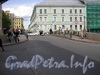 Вид на Мошков переулок и д.17/8 по наб. р. Мойки