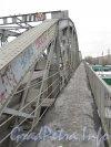 Цимбалинский мост. Зона для пешеходов. Фото март 2012 г.