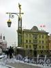 Фонарь Пантелеймоновского моста, вид на ул. Пестеля