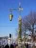 Фонарь 2-го Садового моста. Фото март 2004 г.