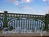 Фрагмент ограды Троицкого моста. Фото июнь 2004 г.