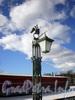 Иоанновский мост. Торшер с фонарем. Фото март 2009 г.