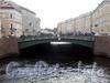 Певческий мост через Мойку у Дворцовой площади. Фото май 2009 г.