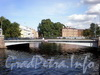 Храповицкий мост через реку Мойку в створе улицы Писарева. Фото сентябрь 2009 г.