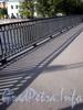 Ограда Храповицкого моста. Фото сентябрь 2009 г.