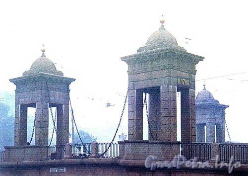Старо-Калинкин мост. Туман. Фото 2004 г. (из книги «Старая Коломна»)