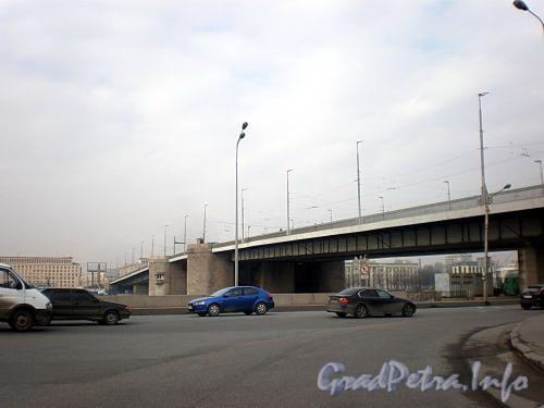 Володарский мост через Неву. Фото апрель 2009 г.