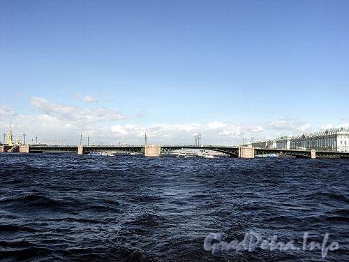 Дворцовый мост. Фото июнь 2010 г.