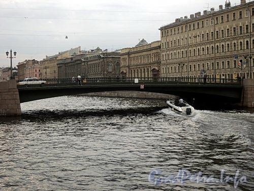 Лештуков мост через реку Фонтанку. Фото июль 2010 г.