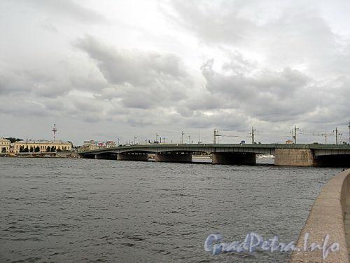 Литейный мост через Неву. Фото сентябрь 2010 г.