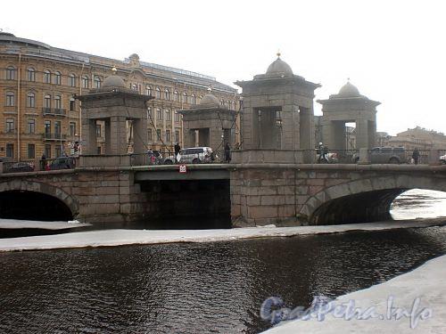 Мост Ломоносова. Общий вид. Фото март 2010 г.