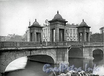 Чернышев мост. Фото 1900-х гг.