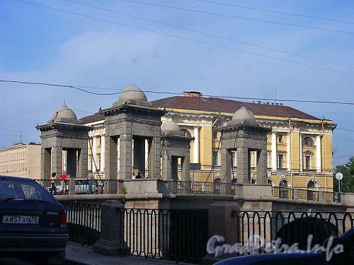 Мост Ломоносова. Фото июль 2004 г.