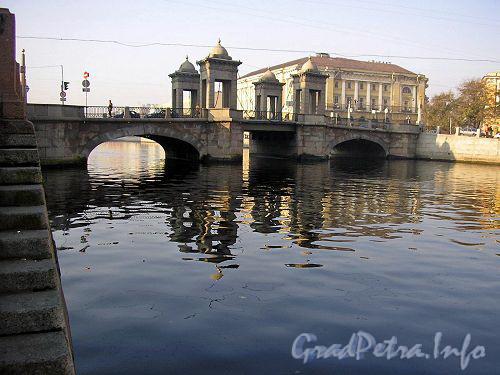 Мост Ломоносова. Общий вид.