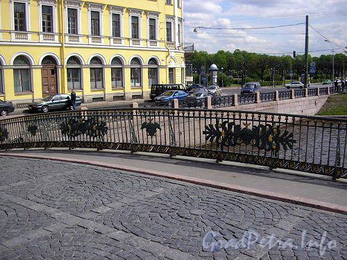 ограда Мало-Конюшенного моста