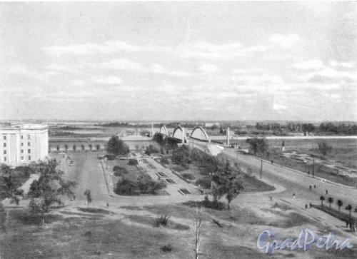 Вид на Володарский мост. Фотоальбом «Ленинград», 1959 г.
