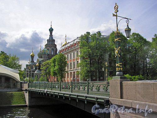 2-й Садовый мост. Вид на Спас-на-Крови
