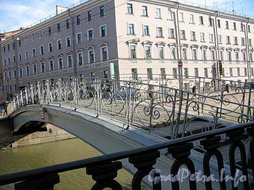 Мучной мост через канал Грибоедова. Фото июль 2009 г.