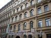 Наб. канала Грибоедова, д. 52. Доходный дом Н. В. Безобразовой. Фрагмент фасада более старой части здания. Фото октябрь 2009 г.