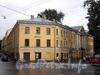 Наб. канала Грибоедова, д. 106 / пр. Римского-Корсакова, д. 12. Дом Сутугиных. Общий вид здания. Фото август 2009 г.