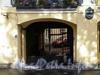 Наб. канала Грибоедова, д. 106. Дом Сутугиных. Решетка ворот. Фото август 2009 г.
