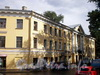Наб. канала Грибоедова, д. 106 / пр. Римского-Корсакова, д. 12. Дом Сутугиных. Фасад по набережной. Фото август 2009 г.