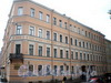 Наб. канала Грибоедова, д. 27 / пр. Римского-Корсакова, д. 27. Бывший доходный дом. Фасад по набережной. Фото август 2009 г.