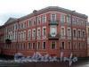 Наб. канала Грибоедова, д. 119 / пр. Римского-Корсакова, д. 14 (угловая часть). Доходный дом Я. А. Фохтса (Ф. М. и М. М. Богомольцев). Общий вид здания. Фото август 2009 г.