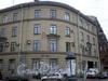 Наб. канала Грибоедова, д. 130 / Лермонтовский пр., д. 13. Угловая часть здания. Фото ноябрь 2009 г.
